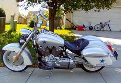 dallas cowboy theme motorcycle