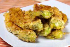 The Chew: Mario Batali Vegetarian Chickpea Fries Recipe with Zucchini