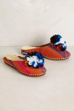 Pom Slippers