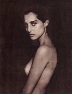 Amira Casar  by Paolo Roversi