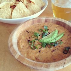The Little Foxes' Game Day Chili Con Queso