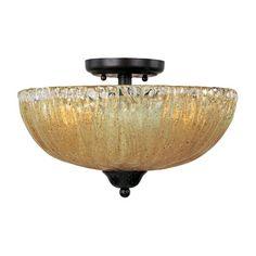Barcelona Semi-Flush Ceiling Light