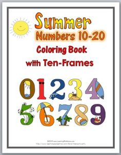 Summer Fun Counting Puzzles