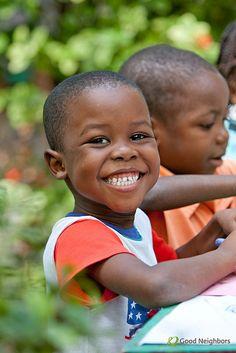 Smiles from Haiti!