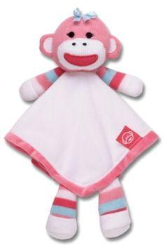 Matching Sock Monkey Snuggle Buddy