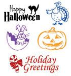 Rubberstamps.com offers a variety of Holiday Rubber Stamps to make it fast and fun to show off your festive side.  Fast turnaround. Free Shipping.