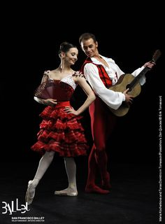 Maria Kochetkova and Taras Domitro in SF Ballet's Don Quixote (photo © Erik Tomasson).