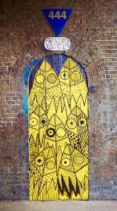 Shoreditch, London, England door