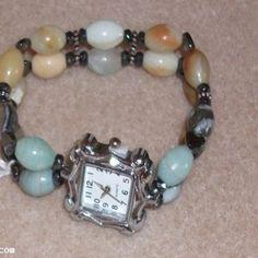 Amazonite Gemstone Watch