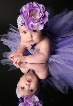 Purple Crochet Tutu Dress