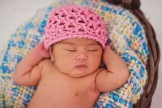 Crochet Pattern for Jacqueline Beanie - 5 sizes, baby to adult - Welcome to sell finished items