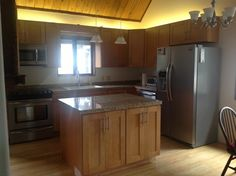 """KCK finished kitchen from client """"roguejoan""""."""