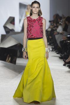 This colour:  Giambattista Valli - Spring 2014 - Couture