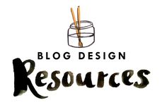 BLOG DESIGN RESOURCES