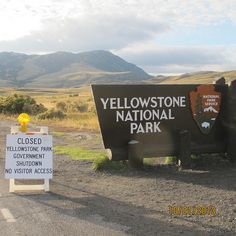 The nation's first #nationalpark ... CLOSED October 1st due to the government shutdown. #KeepParksOpen.