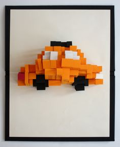 pop up New York icon (a taxicab from top view, a cityscape from side view) Awesome!