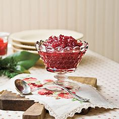 Grandma Erma's Spirited Cranberry Sauce | MyRecipes.com