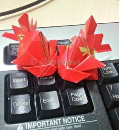 CNY Craft - Red Packet Fish