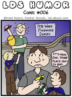 pinewood derby truths!