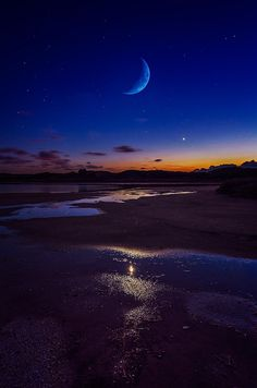 Moonlight, Sardinia, Italy, by Fabrizio Lutzoni.