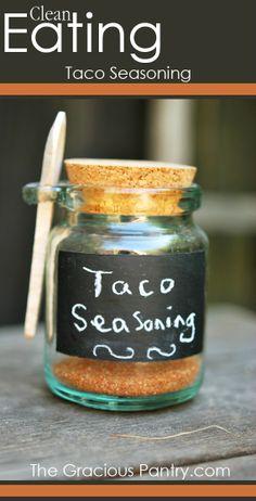 Taco Seasoning #GlutenFree