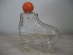 Avon Roller Skate Perfume Bottle Empty $6.00