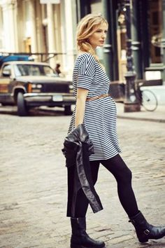Belted stripes