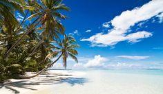 Cocos Keeling Islands lagoon