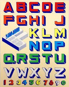 "ABC & Alphabet art prints: ""Shadow""by The Head Light Hote"
