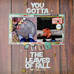 you gotta love the leaves of fall | COCOA DAISY JANUARY 2014 - Scrapbook.com