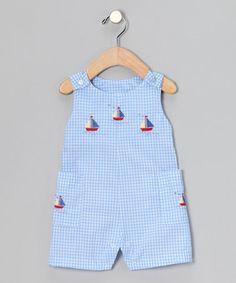 blue sailboat, infant
