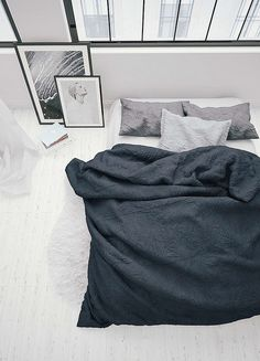 Via A Merry Mishap | Black White and Grey | Bedroom