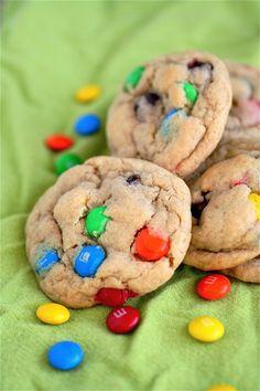 Peanut Butter M Cookies