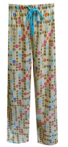 WebUndies.com Scrabble Board Unisex Lounge Pants