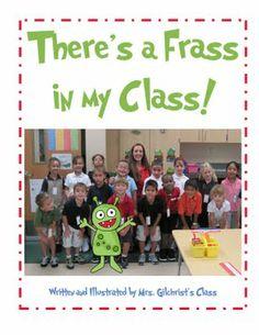 Cute class rhyming book