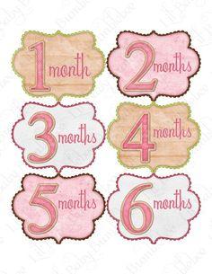 onesie stickers from Little Baby Bumblebee