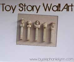 Toy Story Wall Art - PEZ dispensers