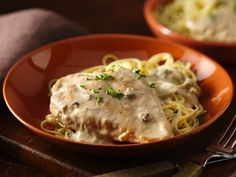 Chicken Marsala - A delicious classic chicken dish flavored with Progresso™ Recipe Starters™ mushroom cooking sauce and marsala wine -  perfect for an Italian dinner.