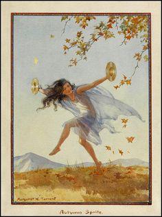 Autumn Sprite by Margaret Tarrant