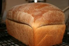 Extra Large White Loaf Bread - An extra large white bread, made in a 10-1/2 inch by 5-1/2 inch loaf pan.