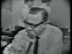 Cronkite Announces the Death of JFK.