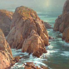 art academi, christensen studio, seascap, plein air, landscap paint, blog, inspir paint, scott christensen, artist inspir