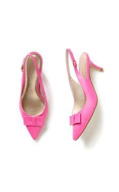 Lilly Pulitzer Kat Kitten Heel in Pop Pink