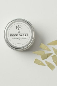 Book Darts  – organizing never looked so good. / Schoolhouse Electric book dart