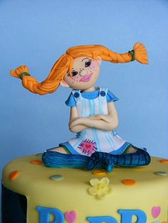 Pippi Longstocking cake...how cool is this?!