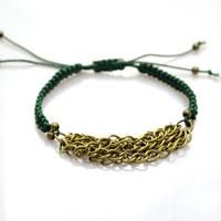 #DIY chain and square knot #friendship #bracelet #tutoial.