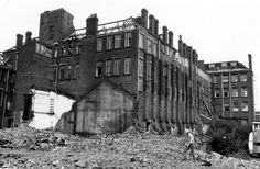 Demolition of Joseph Rogers and Sons Ltd., River Lane Works