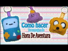 Plushies//Llaveros de Hora de Aventura (idea de regalo AMISTAD) - YouTube