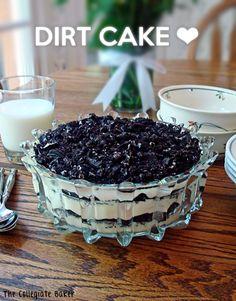 Dirt Cake! A super easy, no bake Oreo dessert!