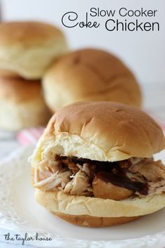 Slow Cooker Coke Chicken Recipe